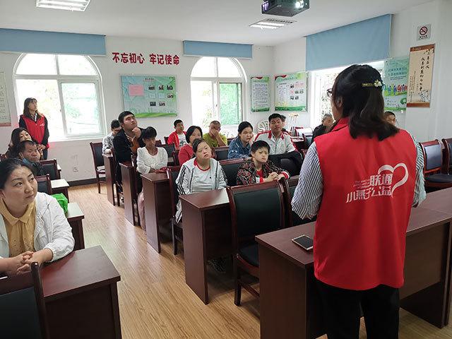 吉山四社区:开展残疾人智能手机使用培训活动