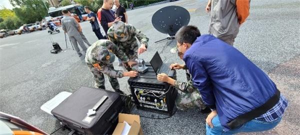 湖州市吴兴区人防办参与长三角人民防空一体化通信指挥演练