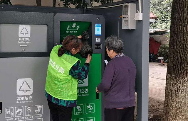 红丰西塘社区:推进下塘小区生活垃圾分类工作有序开展