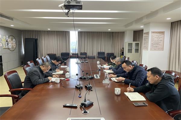 湖州市人防办三服务工作组赴吴兴区人防办 调研指导工作